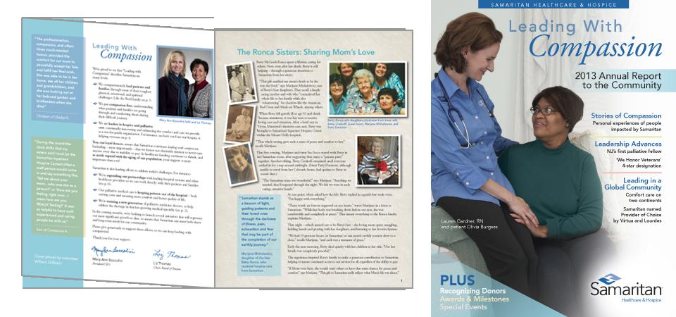 Samaritan Healthcare & Hospice 2013 Annual Report